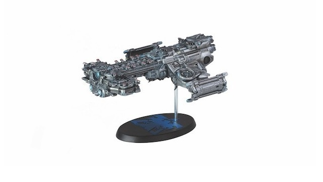 Dark Horse launching a Terran Battlecruiser