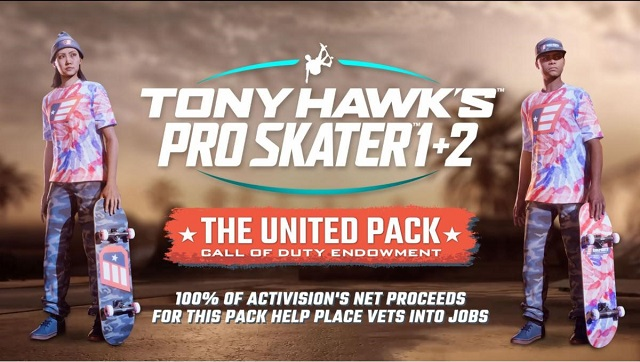 Tony Hawk's Pro Skater 1 and 2 helping vets