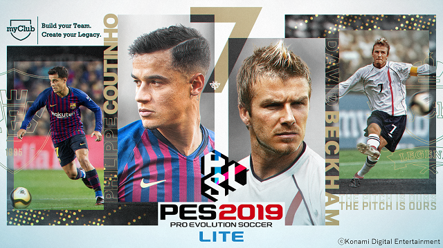 PES 2019 launches free-to-play light version