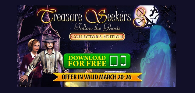 Treasure Seekers 3: Follow the Ghosts available for free this week news image