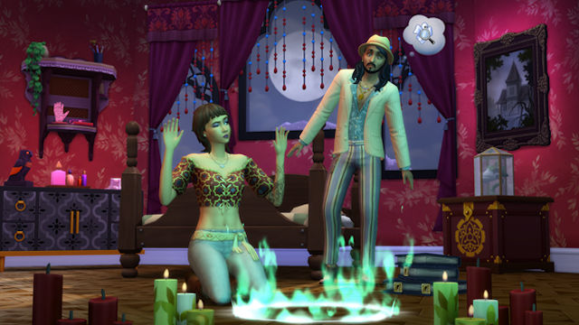 The haunting of The Sims has begun