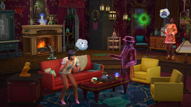 The Sims 4 getting ghosted