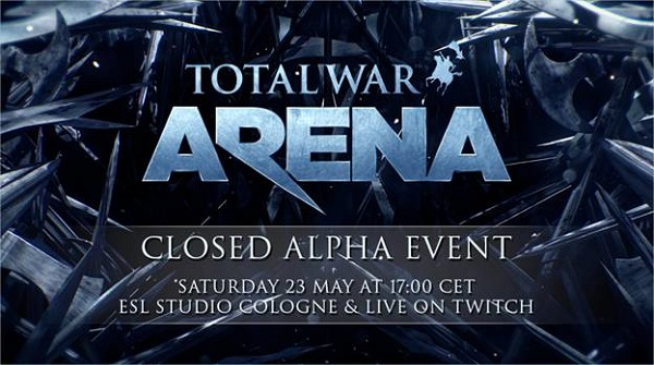 Total War: Arena live event gameplay to be streamed later this month