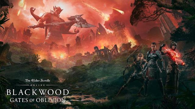 The Elder Scrolls Online enters Blackwood