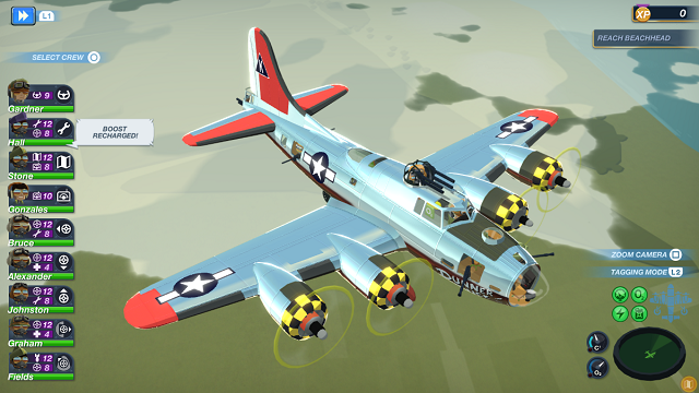 USAAF arrives in Bomber Crew