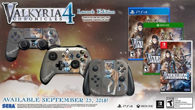 Valkyria Chronicles 4 deployment date set