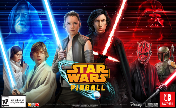 Star Wars Pinball coming to the Switch