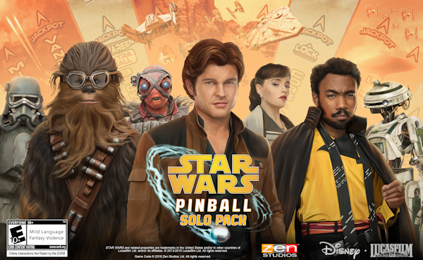 Solo: A Star Wars coming to Pinball FX3