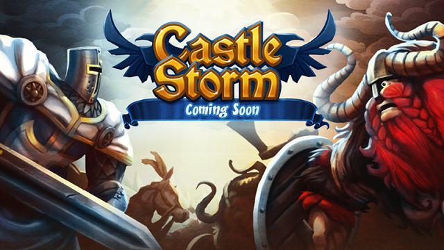 CastleStorm catapulting onto Switch