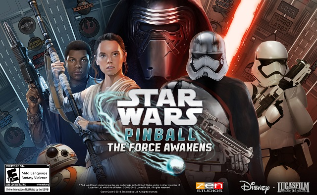The Force Awakens coming to Zen Pinball games