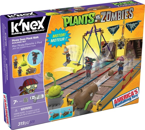 Plants vs. Zombies building sets released