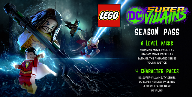LEGO DC Super-Villains season pass revealed