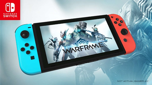 Warframe launched on Switch