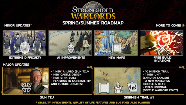 Stronghold: Warlords roadmap revealed