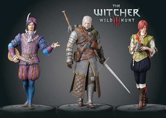 Dark Horse expands The Witcher 3 figure collection