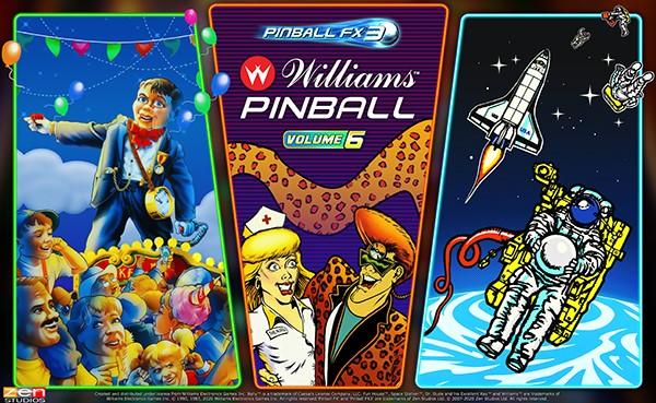 Williams Pinball: Volume 6 coming to Pinball FX3