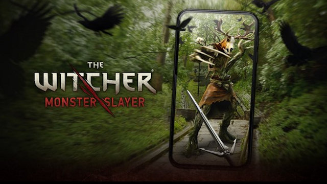 Slay monsters with The Witcher in AR