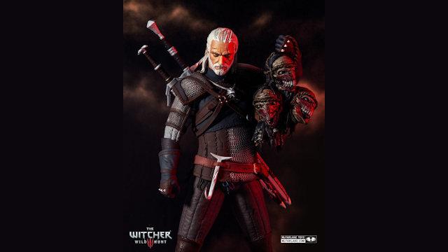 McFarlane Toys unveils Witcher action figure