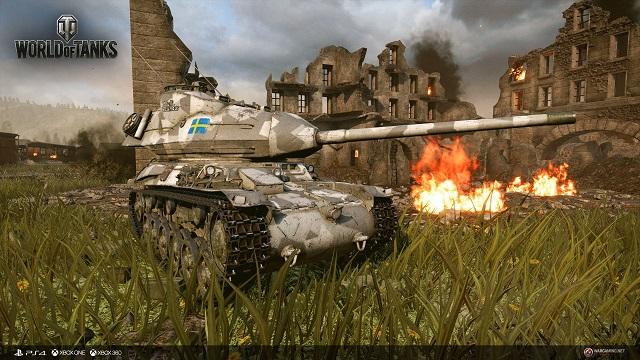 Swedish tanks arrive in World of Tanks