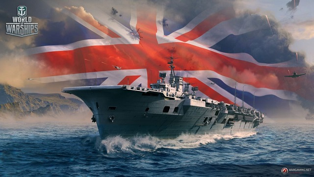 Royal Navy carriers sail into World of Warships