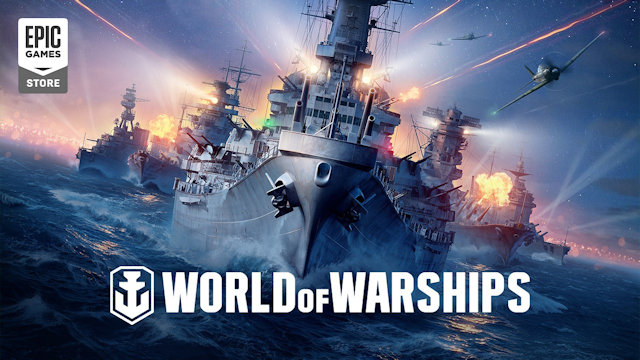 World of Warships sailing into Epic Games Store