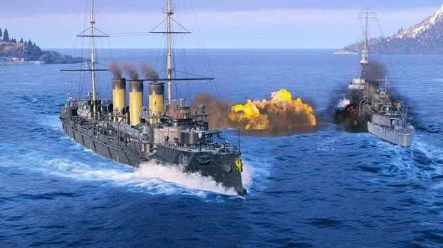 Russian destroyers headed to World of Warships: Legends