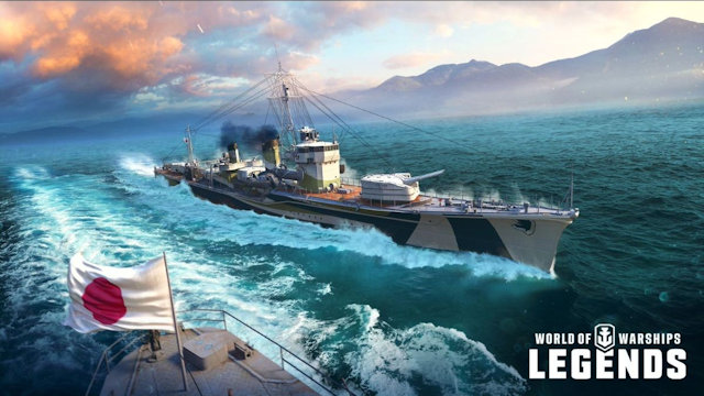 World of Warships: Legends becoming more legendary