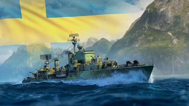 Swedish destroyers steam into World of Warships