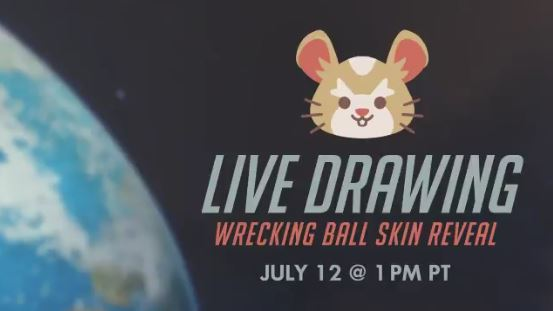 Watch one of Wrecking Ball's legendary skins revealed live on Twitch