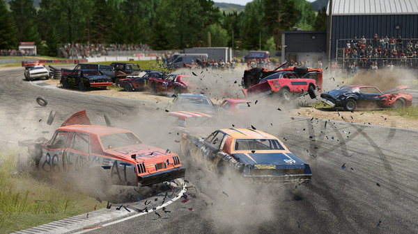 Wreckfest smashes onto Steam