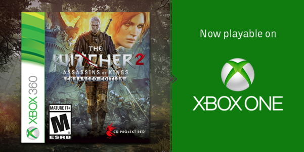 The Witcher 2 available for free to Xbox One gamers