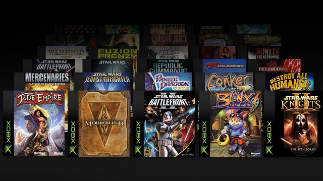 More Xbox games coming to Backward Compatibility