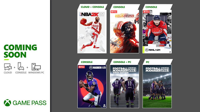 Xbox Game Pass getting sporty