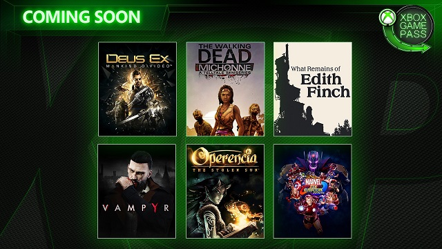 Six more games announced for Xbox Game Pass