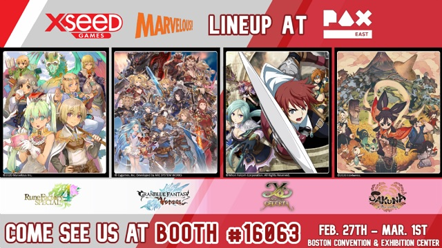 XSEED Games making its PAX East debut