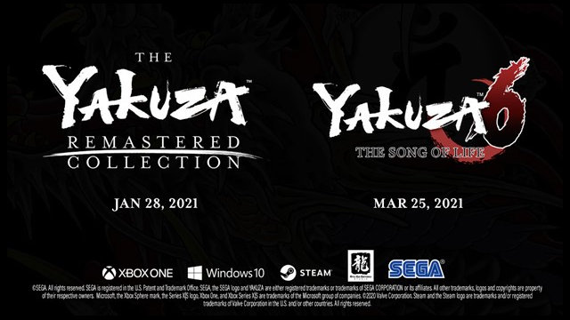 More Yakuza games coming to PC and Xbox