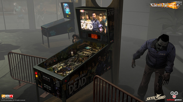 Pinball FX2 VR headed to PS4 and bringing The Walking Dead with it