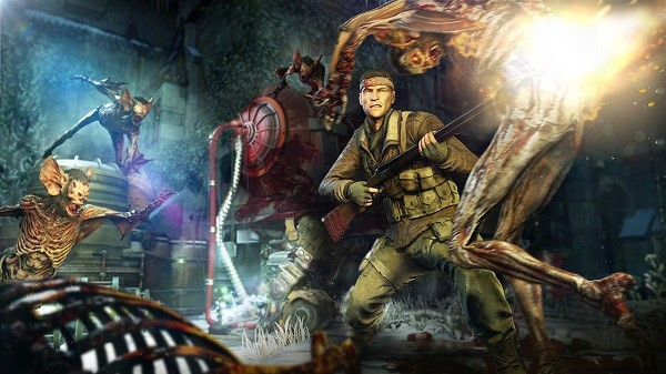 Zombie Army 4 invading Stadia