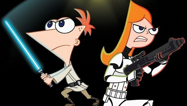 Phineas and Ferb Star Wars (DVD)