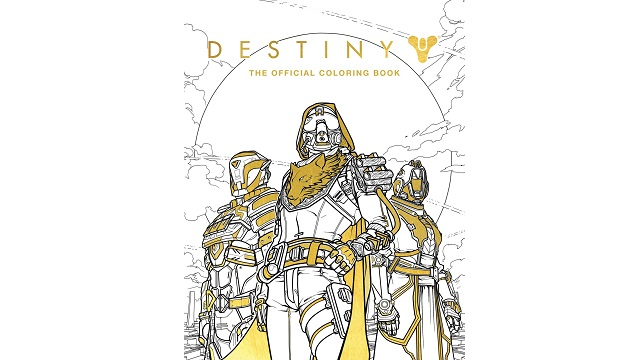 Destiny: The Official Coloring Book (Book)
