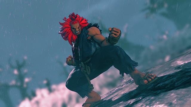 Street Fighter V: Akuma Character (DLC) screenshot