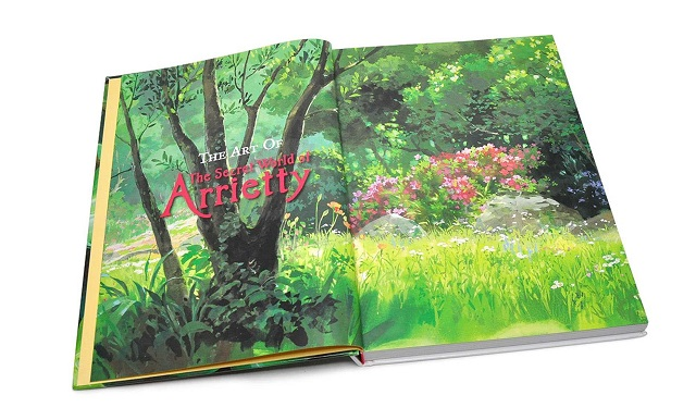 The Art of the Secret World of Arrietty (Book)