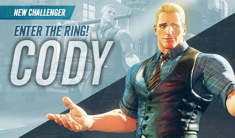 Street Fighter V: Cody Character (DLC)