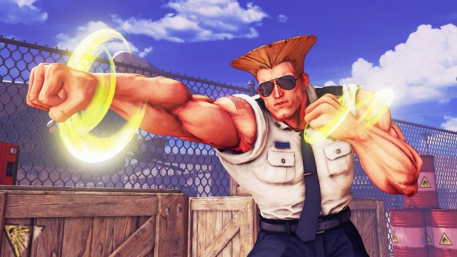 Street Fighter V: Guile Character (DLC)