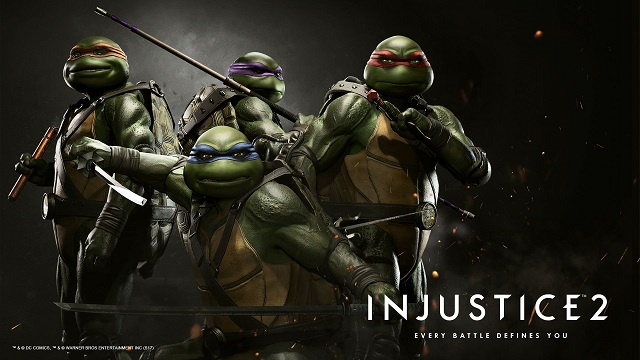 Injustice 2: TMNT Characters (DLC) hero shot