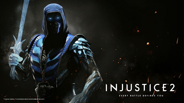 Injustice 2: Sub-Zero Character (DLC) hero shot