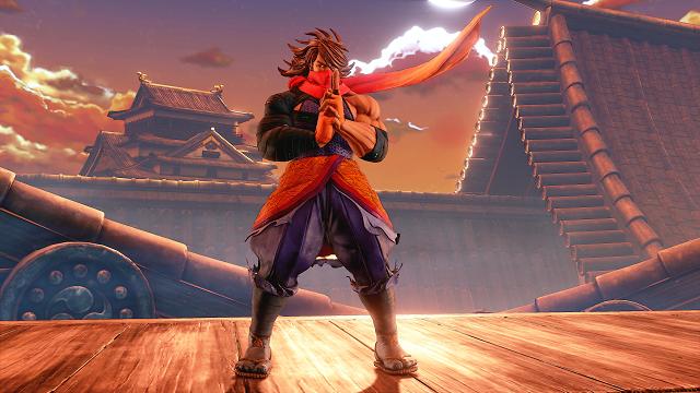 Street Fighter V: Zeku Character (DLC)