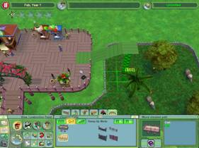 Zoo Tycoon  Building Exhibits On Elevated Paths